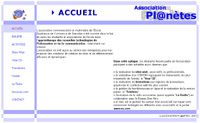 Association Planètes (version 2000-2001)